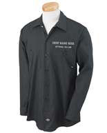 Dickes - Long Sleeve Work Shirt